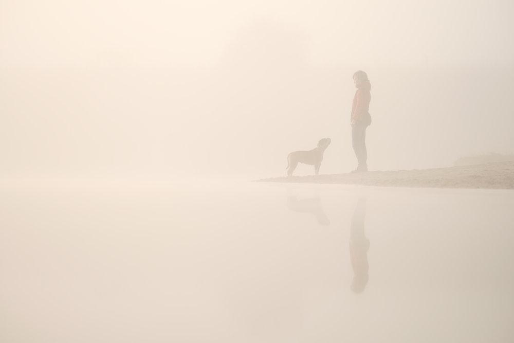Spaziergang mit Debi